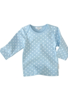Purebaby Easy Neck Long Sleeve Tee
