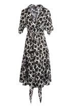 Marco Polo Clothing Faux Wrap Shirt Dress Birdsnest