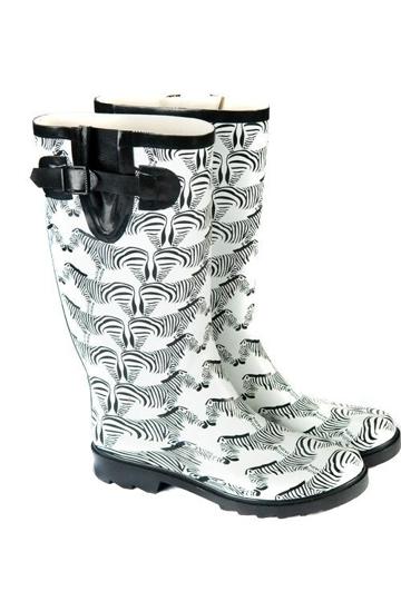Gumboots zebra brand image