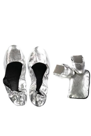 Fold shoe silv rs brand image