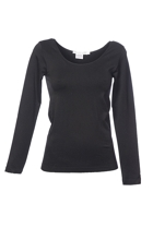 Blank Canvas Seamless L/S Scooped Neck