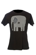 Monster Threads Mens Elephant & Bird Tee