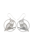 Polli Bird Owl SS Earrings