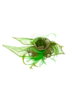 Woven Flower & Petal Fascinator