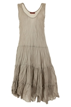 Tiered Swing Singlet Dress
