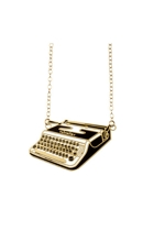 Polli Kohl Typewritter Necklace