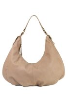 Leather Shoulder Slouch Bag