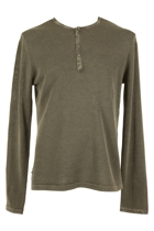 Linen Cotton Henley
