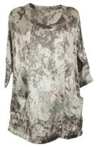 Yarra Trail Marble Print Shirt
