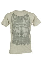 Monster Threads Mens Wolf Mosaic Tee