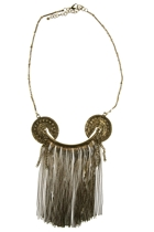 Zoda Cleo Patra Fringe Necklace
