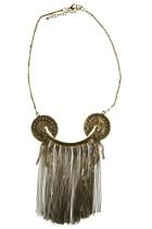 Zoda Cleo Patra Fringe Necklace