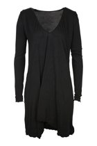 Vigorella V-Neck L/S Draped  Tunic