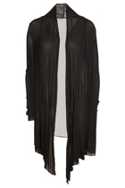 Vigorella Mesh Long Draped Cardi
