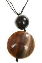 Zoda Ball Pendent Necklace