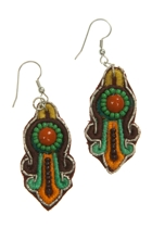 Zoda Ethnic Beaded Earring