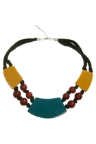 Zoda Chunky Bead Necklace