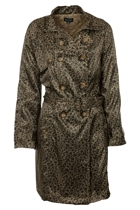 Gordon Smith Animal Print Trench