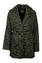 Yarra Trail L/S Mono Print Jacket