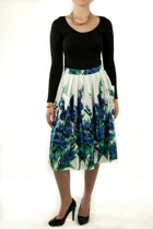 Pleated 50s Skirt