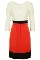 Martini Lustful Colour Block Dress