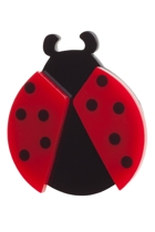 Loving Ladybugs Brooch