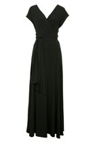 Martini Halter Maxi Dress