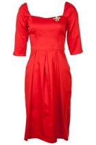 RetroSpec'd Miss Holloway L/S Dress