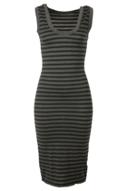Metalicus The Stripe Tank Dress