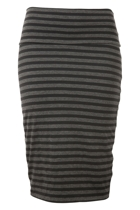 Metalicus The Stripe Tube Skirt