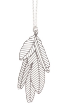 Polli Feather Pendant