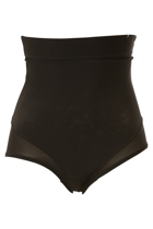 Firming Microfiber High Waist Brief
