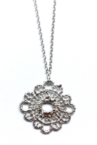 Lace Doily Necklace