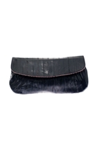 maiden voyage Eel Skin Mini Clutch Bag