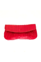 Eel Skin Mini Clutch Bag