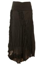 Namastai Uneven Hem Long Skirt