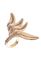 Attica Feather Frond Ring