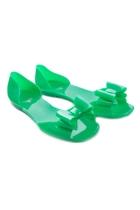 Fiebiger Greenfly Jelly Peep Toe Sandal