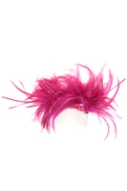 Adjustable Feather Comb Fascinator