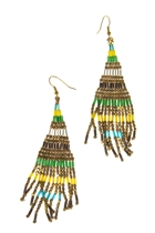 Zoda Aztec Shower Earring