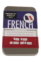 Magnetic Poetry - French