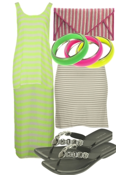 Fluro Stripe Sensation