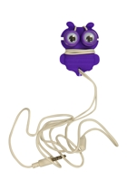 Googly Eyes Earbuds & Cord Wrap