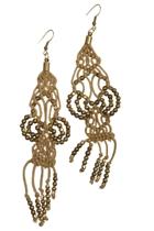 Zoda Tassel Woven Earring