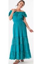 Orientique Naples Off Shoulder Dress