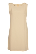 The A-Line Silk Shift Dress