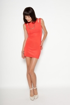The Body Cut Out Mini Dress