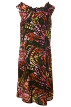 Hammock & Vine Tropic Print A-Line Dress