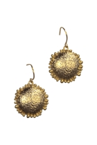 Textured Dome Earrings