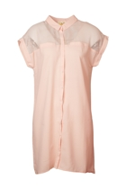 IDS Mesh Shirt Dress